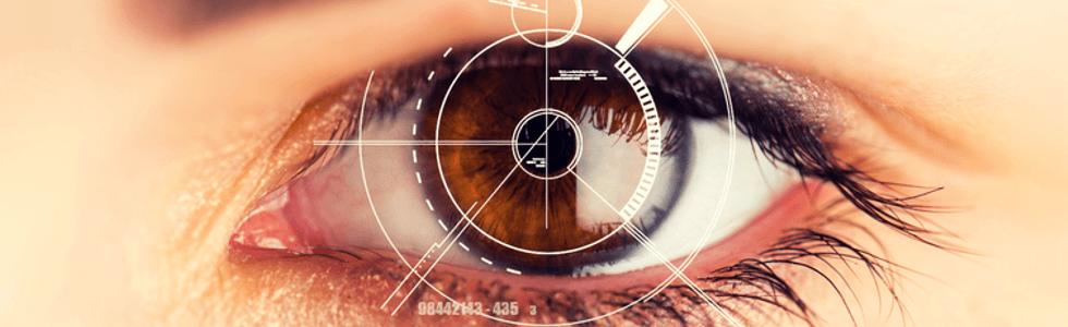 scansione della retina