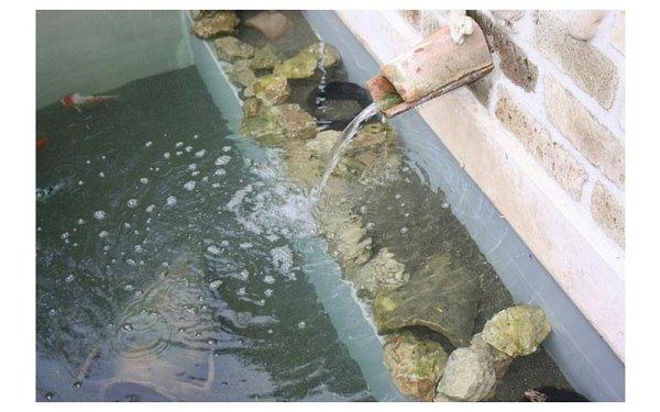 laghetti artificiali con fontana