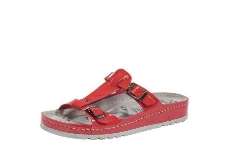 sandalo rosso