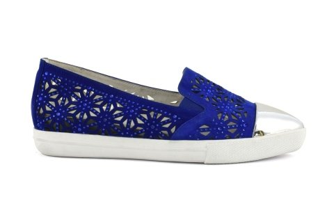 scarpa blu elettrico