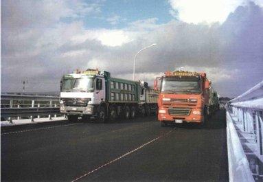 camion per trasporto edile