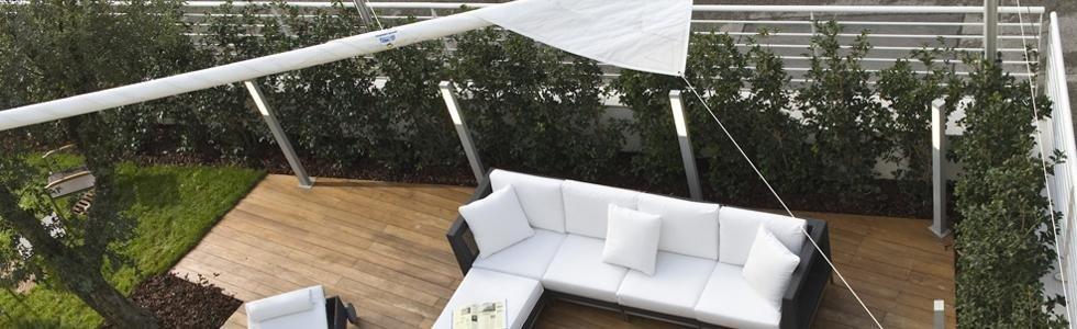 Installazione vele terrazze e giardini  Cit tende Casarza Ligure