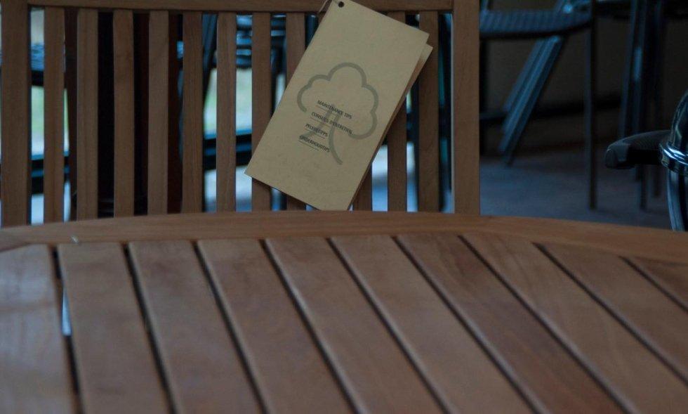 tavolini in legno Cit tende Casarza Ligure