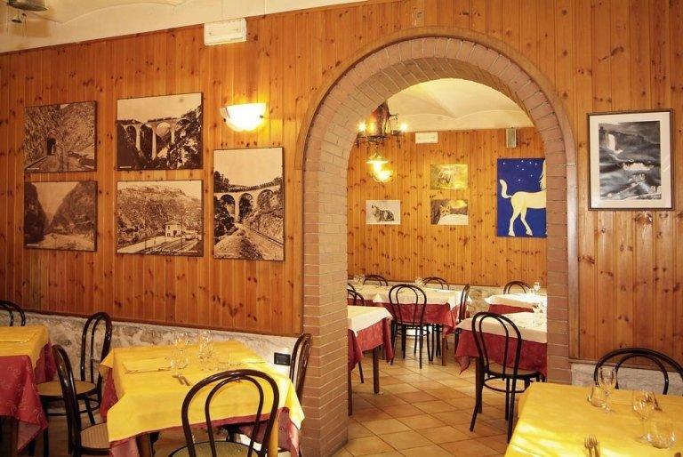 arco sala pranzo ristorante