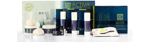 prodotti cosmetici a marchio ACTIVA