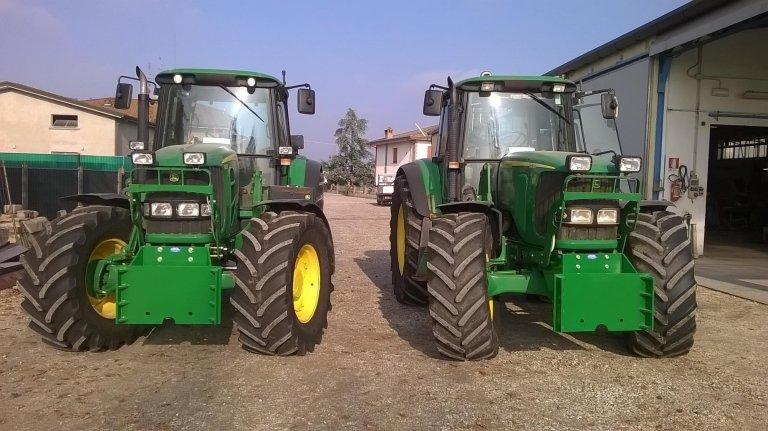 riparazione pneumatici di macchine agricole