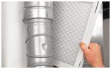 montaggio filtri aria