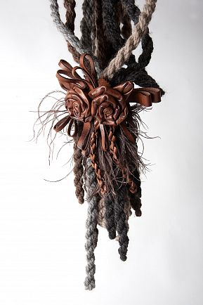 corde in cuoio a decorazione cintura