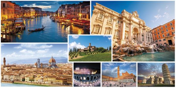 foto di Venezia, Roma, Firenze, Pisa,Siena