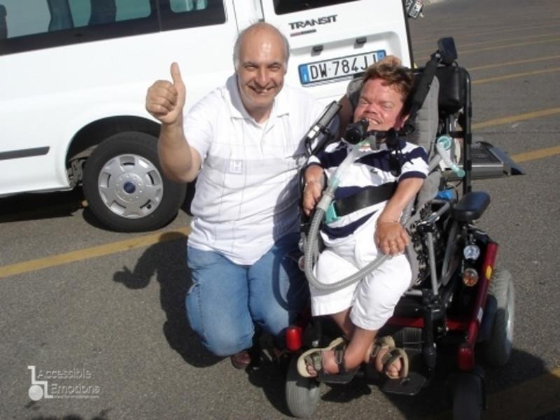 Nando e Mario con la famiglia in tour a Roma
