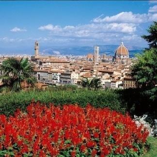 foto panoramica di Firenze