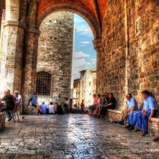 Siena, Volterra e San Giminiano