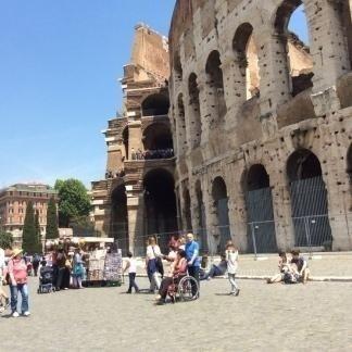 entrata al Colosseo