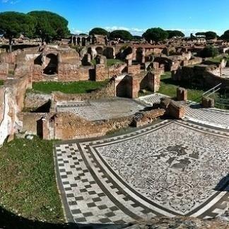 Colle palatino a Roma