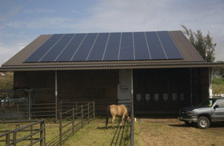 32.40 KW solar grid installed on rooftop in Honokaa, HI
