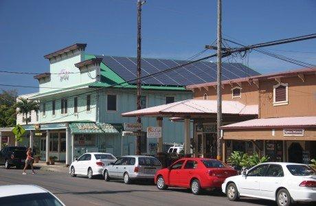 Bamboo Restaurant Hawi with 34.02 KW solar power system in Honokaa, HI
