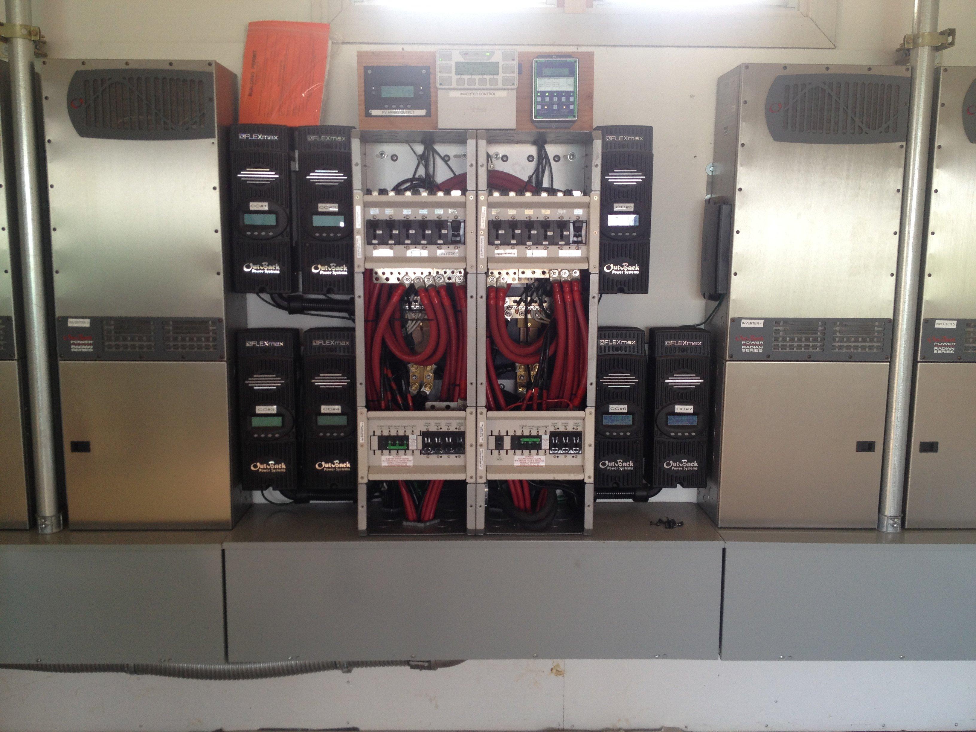 Pa Ka Makani Farm installed 25.7KW off grid solar power system in Honokaa, HI