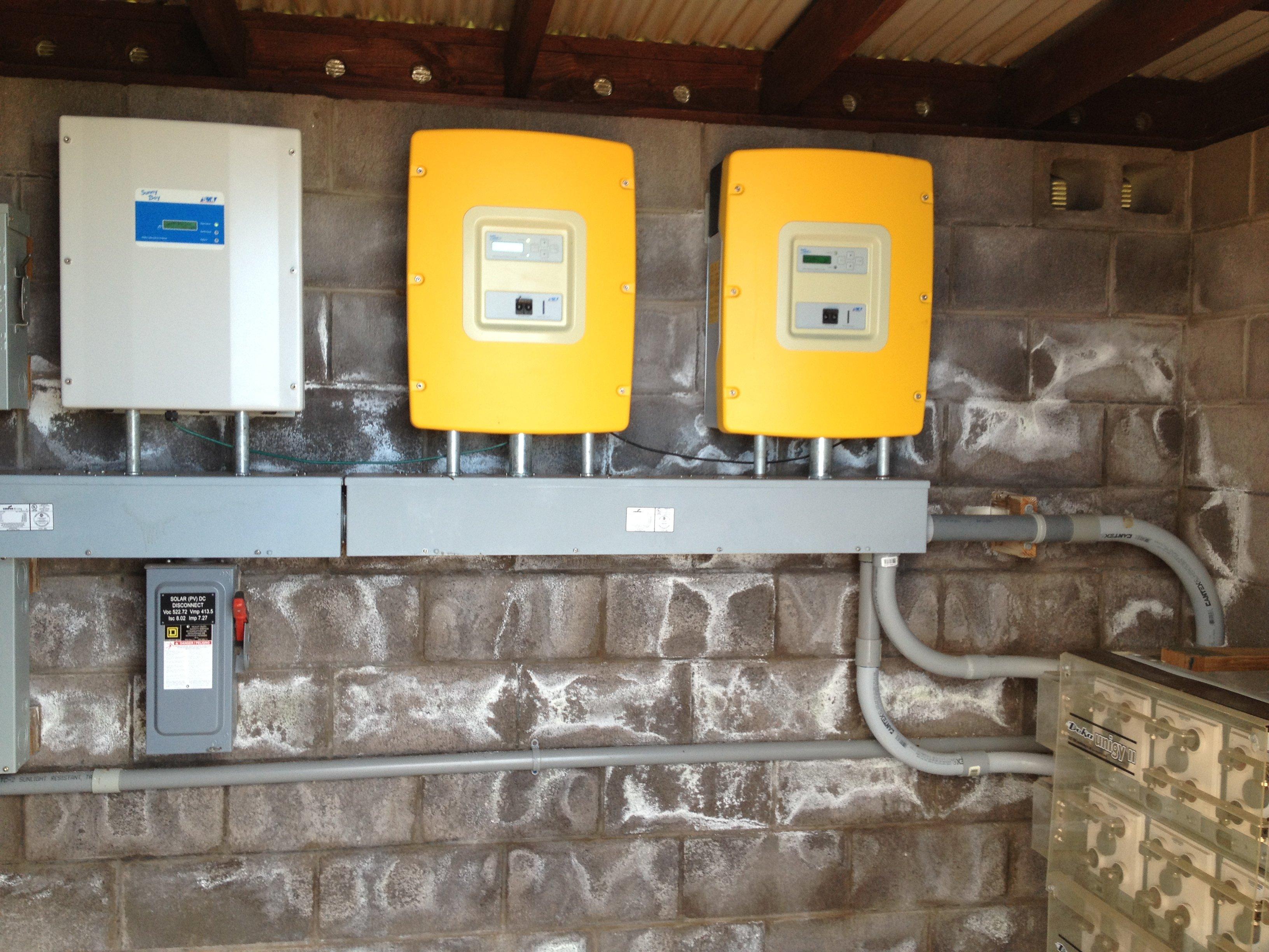 Private Residence Kohala installed 10 KW off grid solar power system in Honokaa, HI