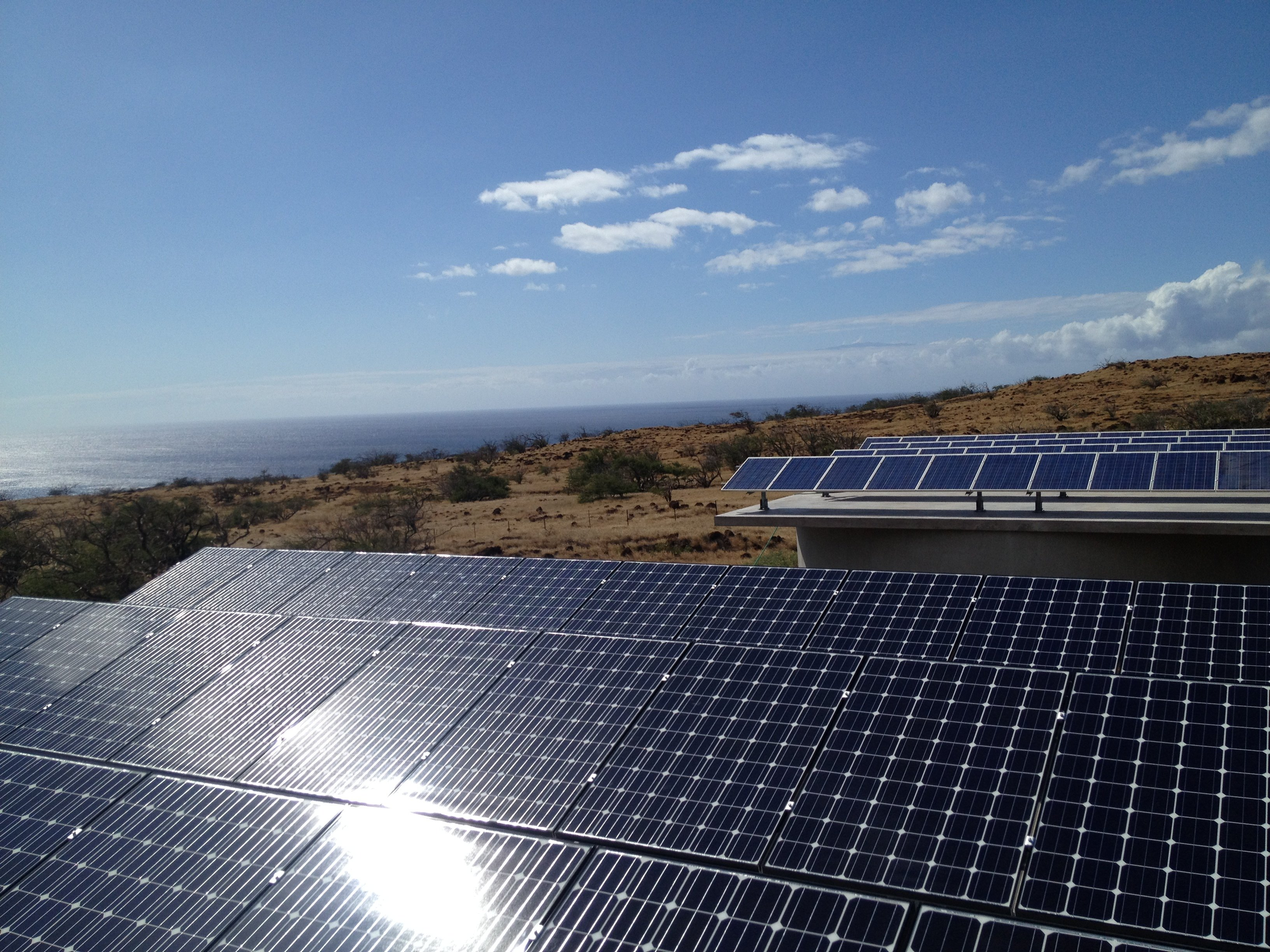 Big Island Science Centre installed 31.9KW off grid water tank mount solar power system in Honokaa, HI