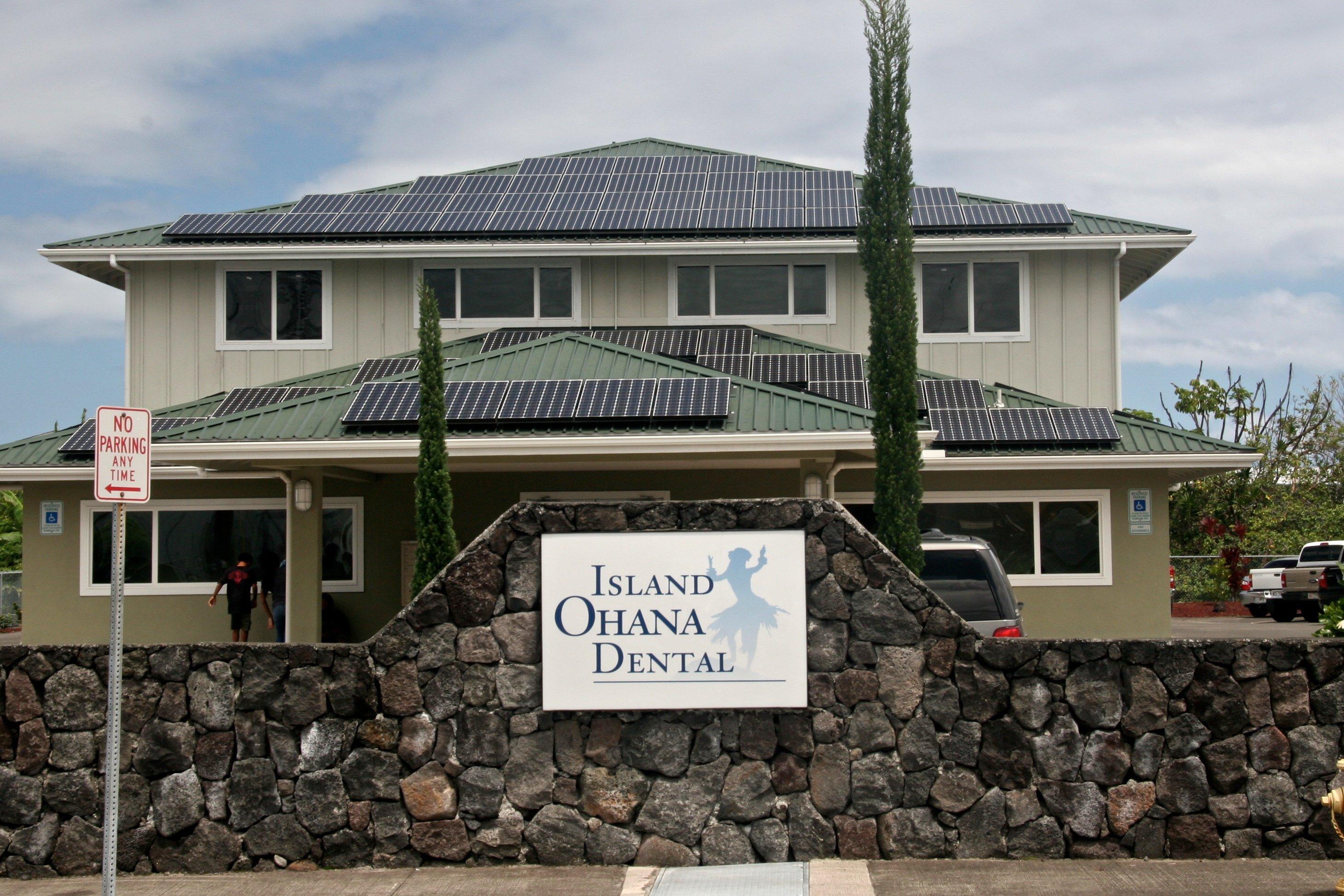Island Ohana Dental installed 39.6 KW solar power system in Honokaa, HI