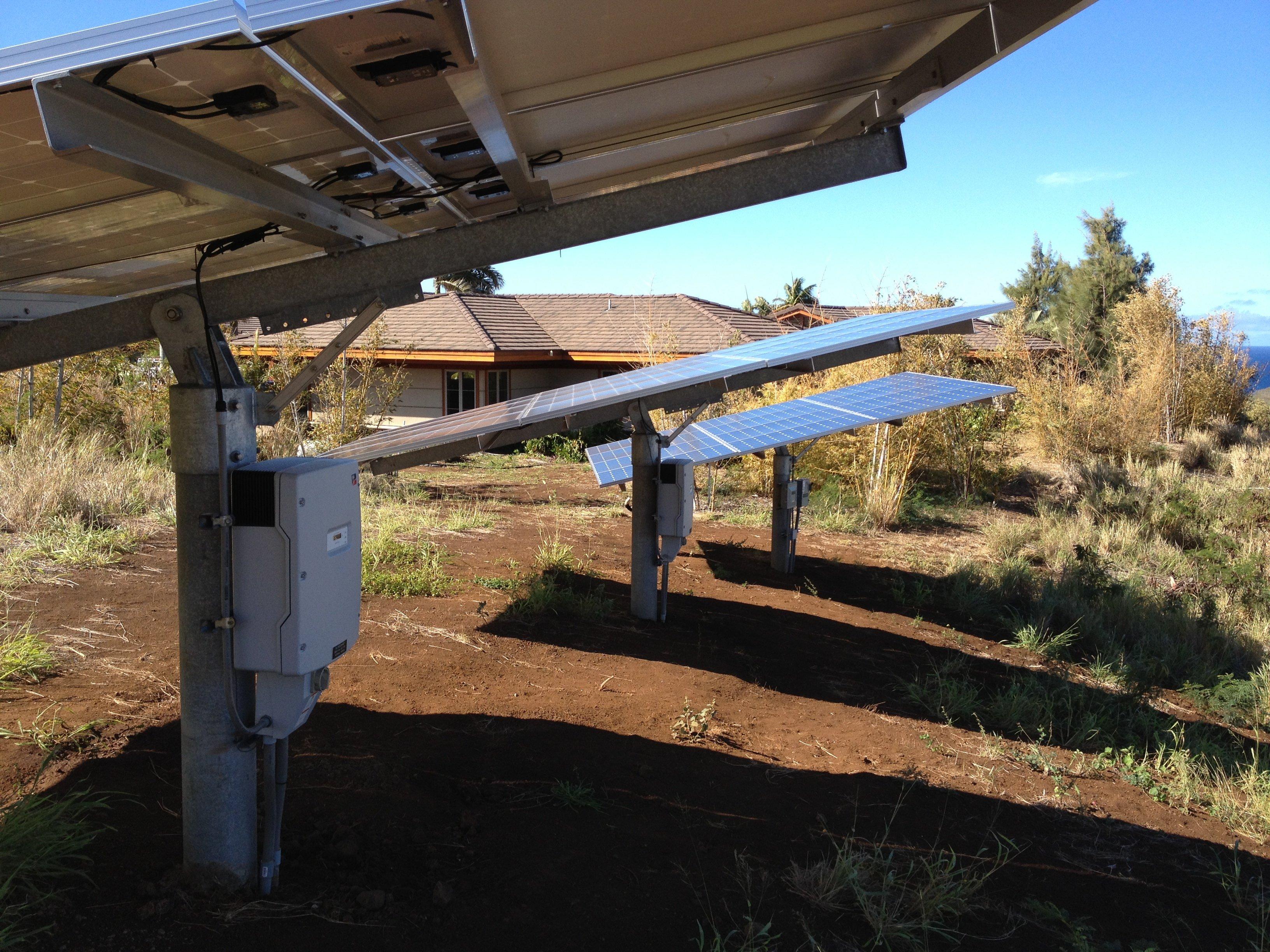 11.856 KW Solar PV system installed on rooftop in Honokaa, HI