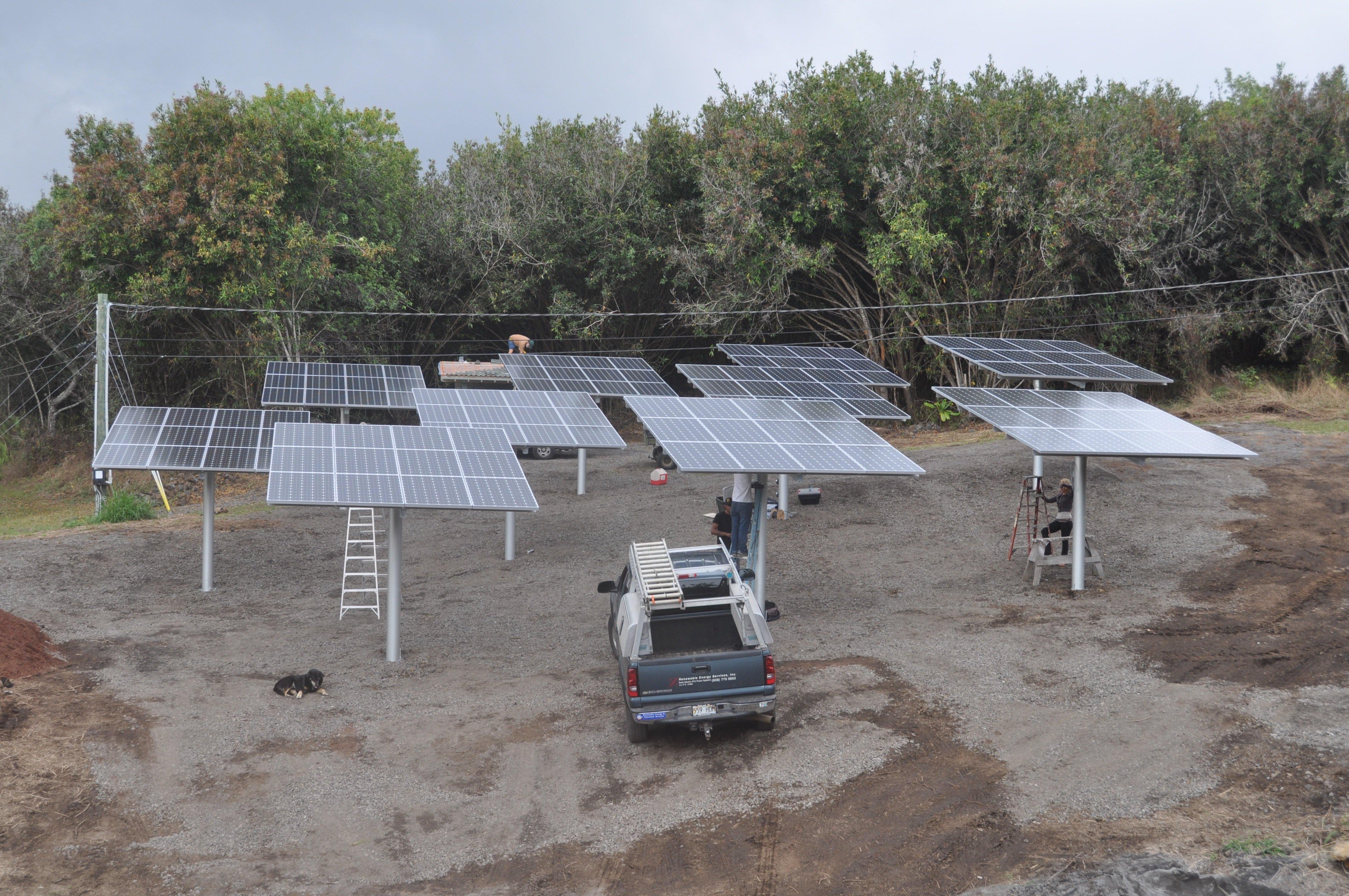 29.28 KW Solar PV system installed on rooftop in Honokaa, HI