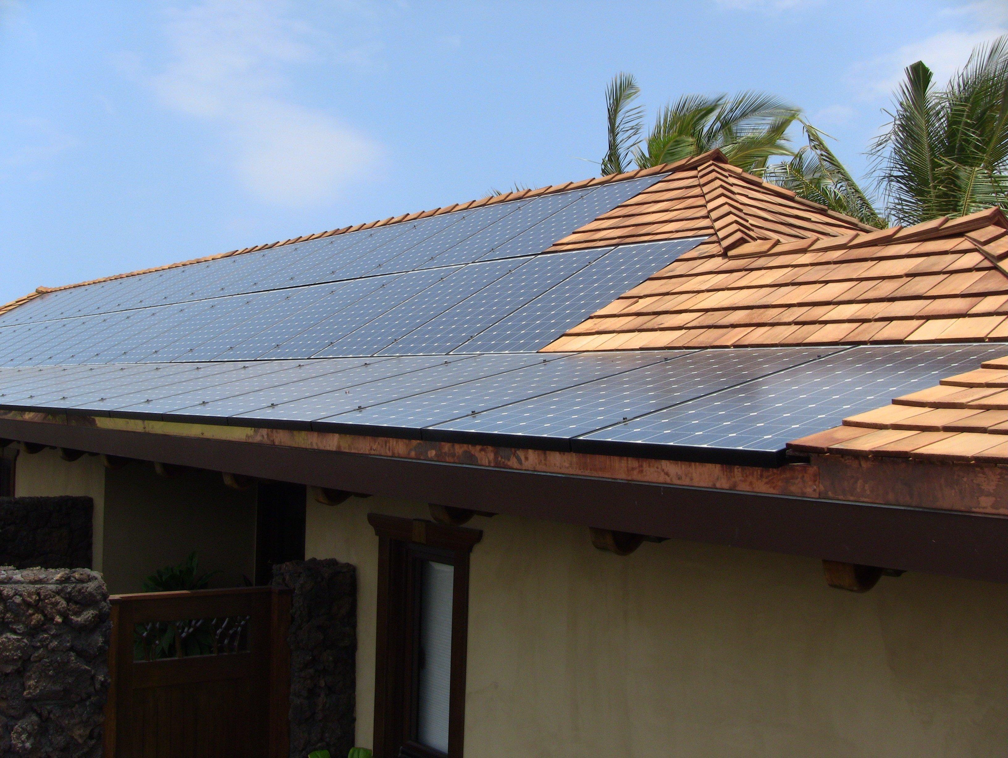 19.2 KW Solar PV system installed on rooftop in Honokaa, HI
