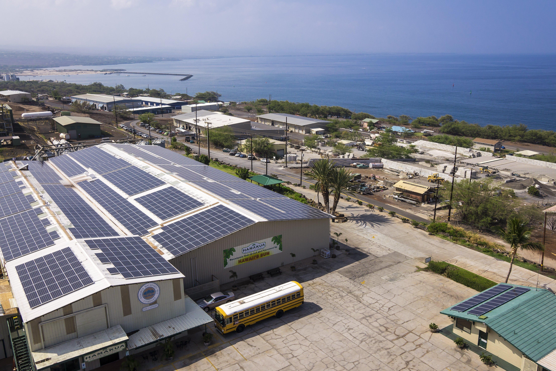 Hamakua Macadamia Nut Company installed 373.464 KW solar power system in Honokaa, HI