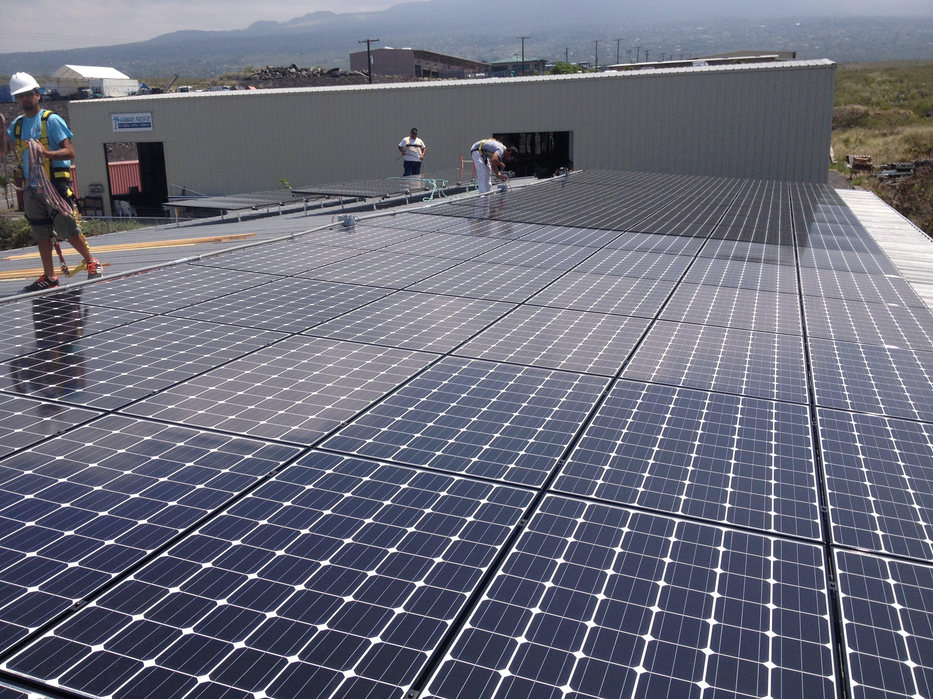 Kohala Public library installed 10 KW solar power system in Honokaa, HI