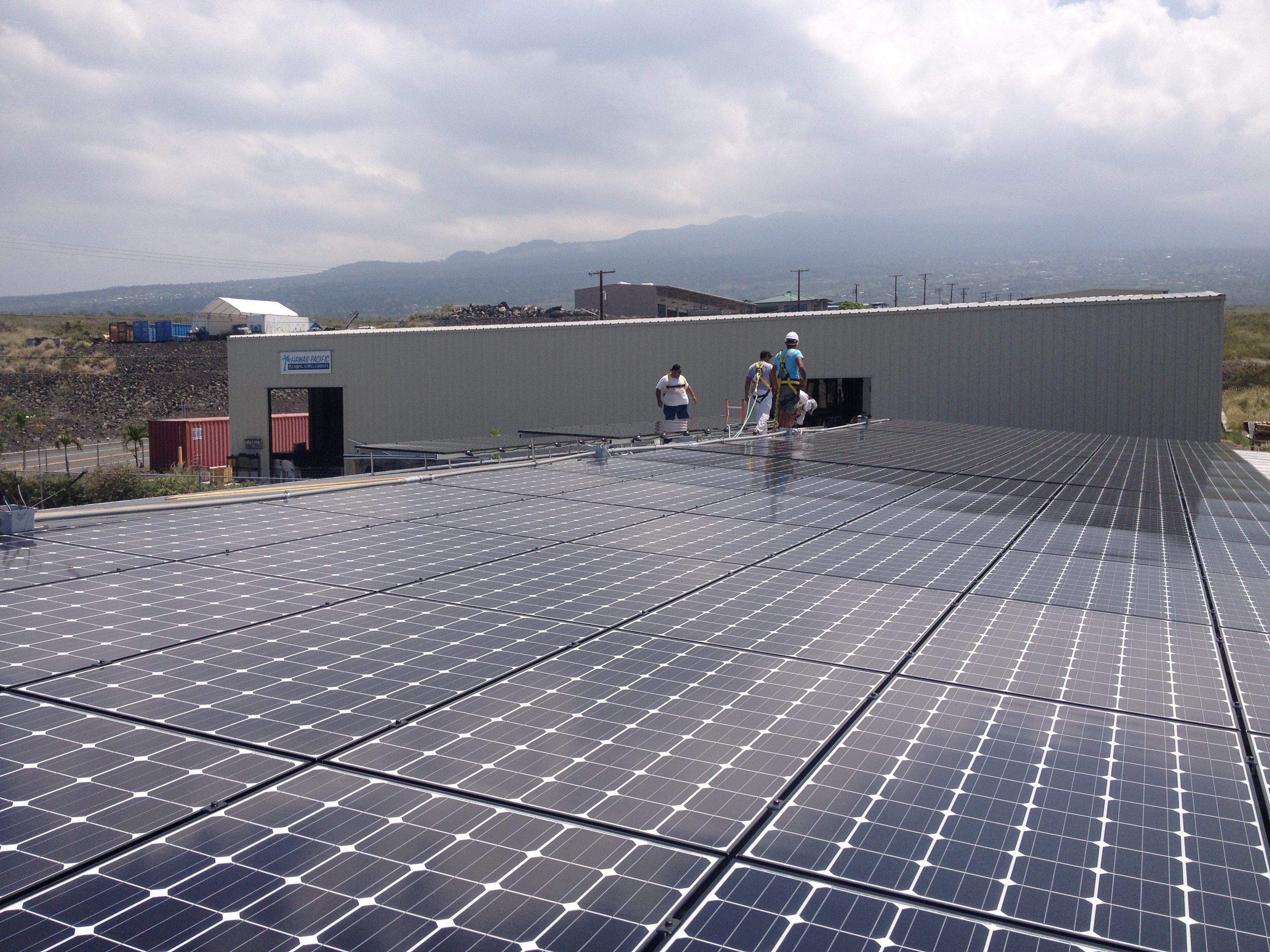 Jack Tours installed 30.6 KW solar power system in Honokaa, HI
