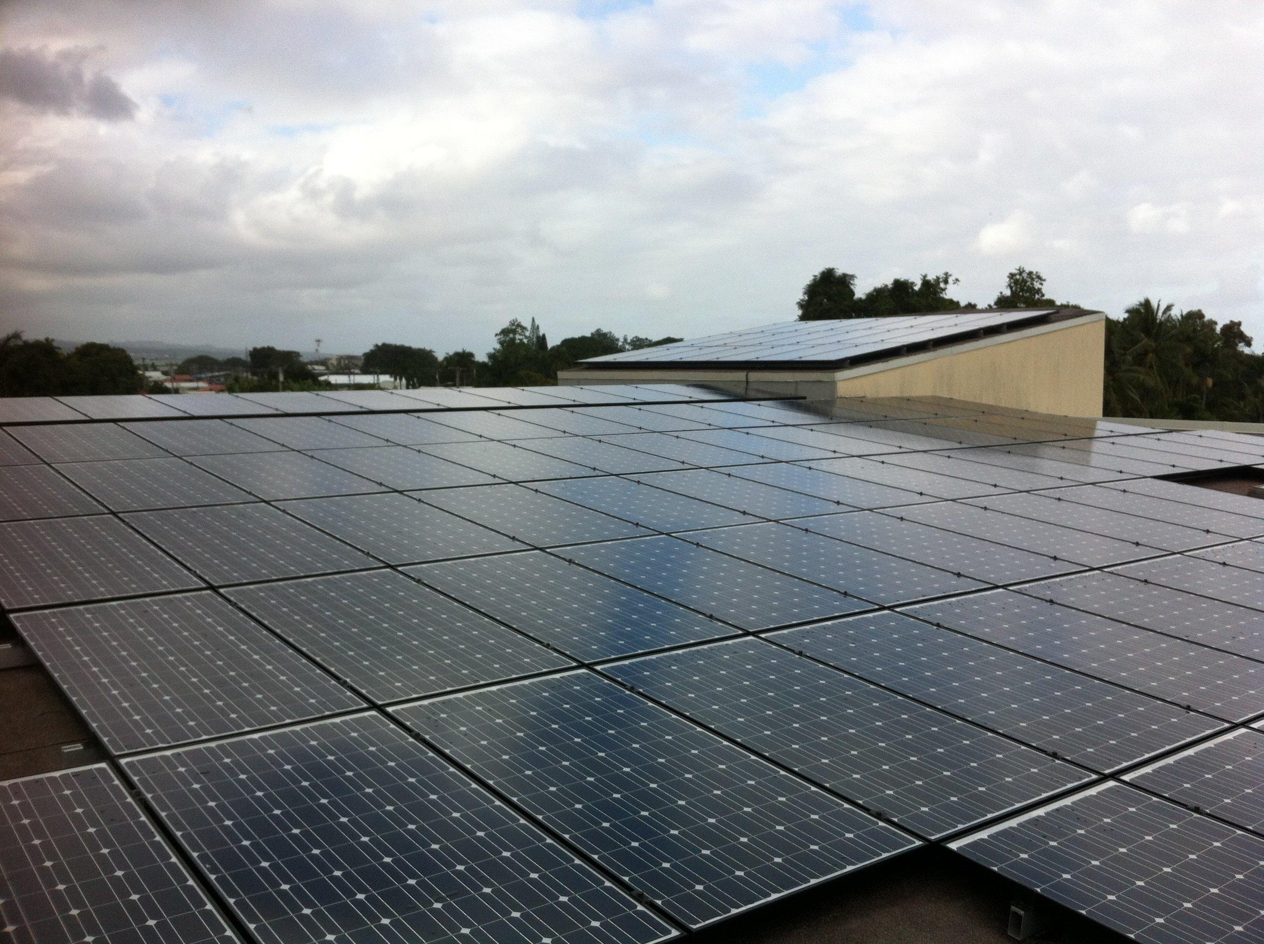 Kawili Dental group installed 45.32 KW solar power system in Honokaa, HI