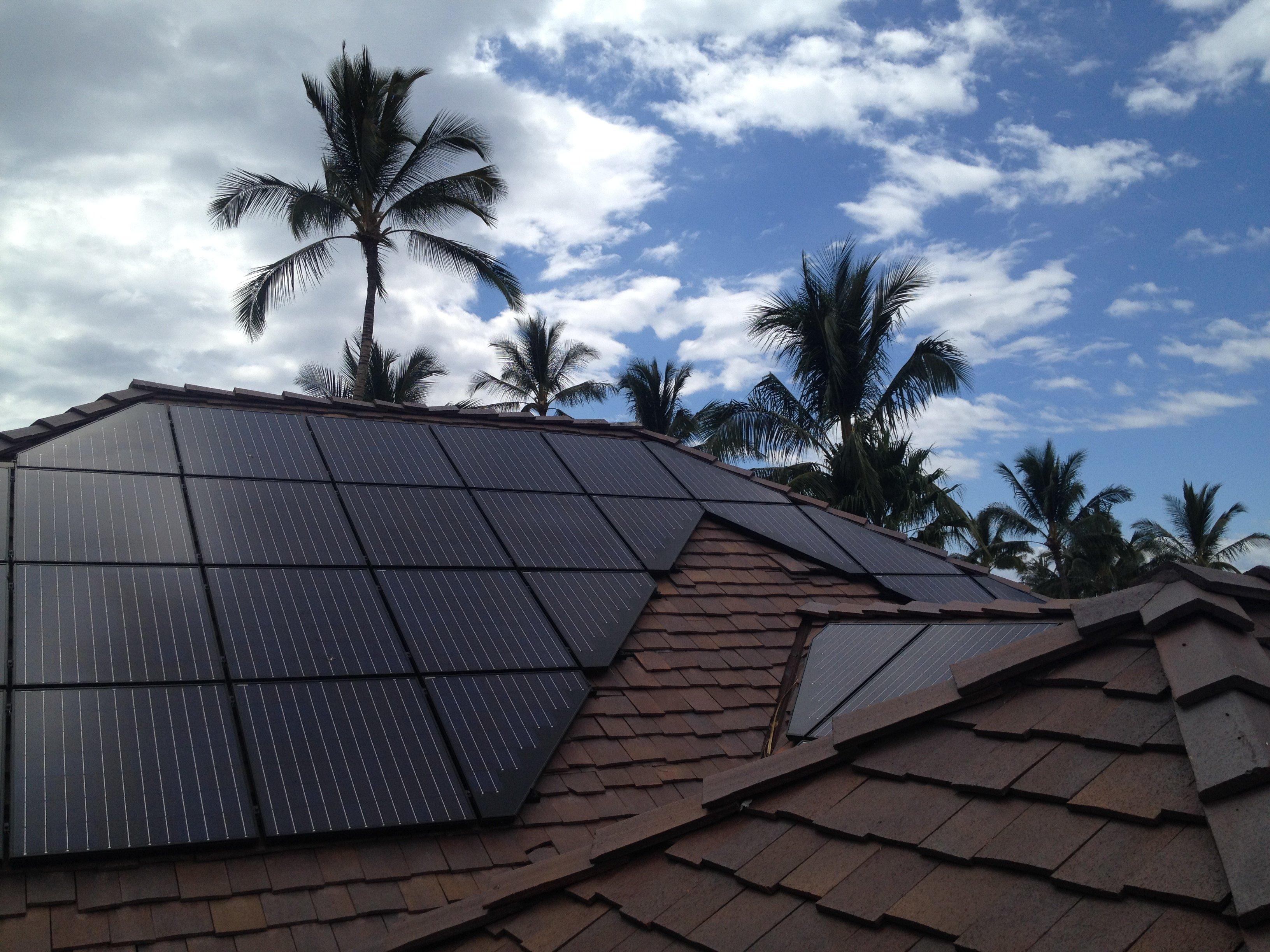22.67 KW Solar PV system installed on rooftop in Honokaa, HI