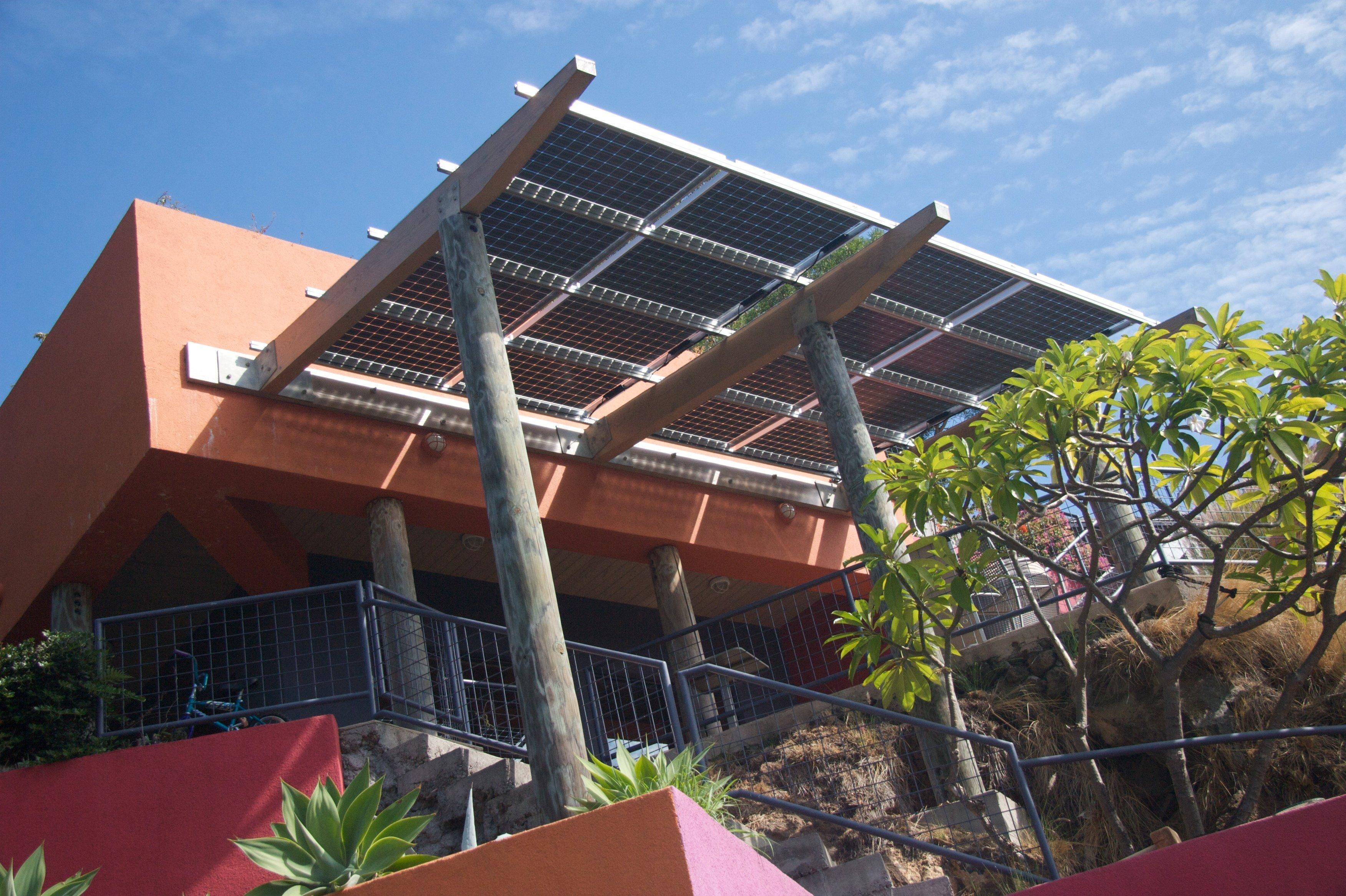 3.04 KW solar grid installed on rooftop in Honokaa, HI