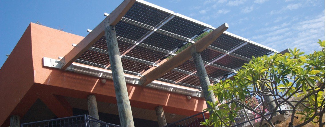 Custom installation of solar panel in Honokaa, HI