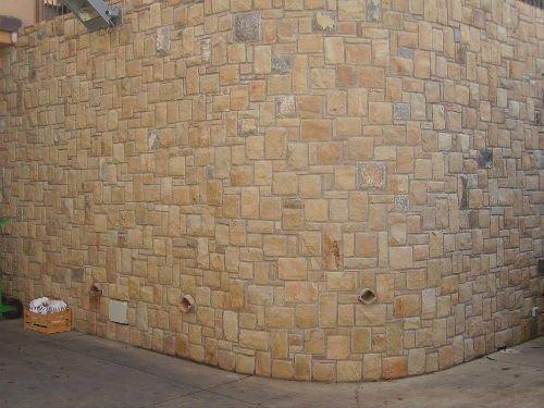 un muro in pietra