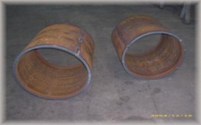 Produzione cilindri in metallo ancona