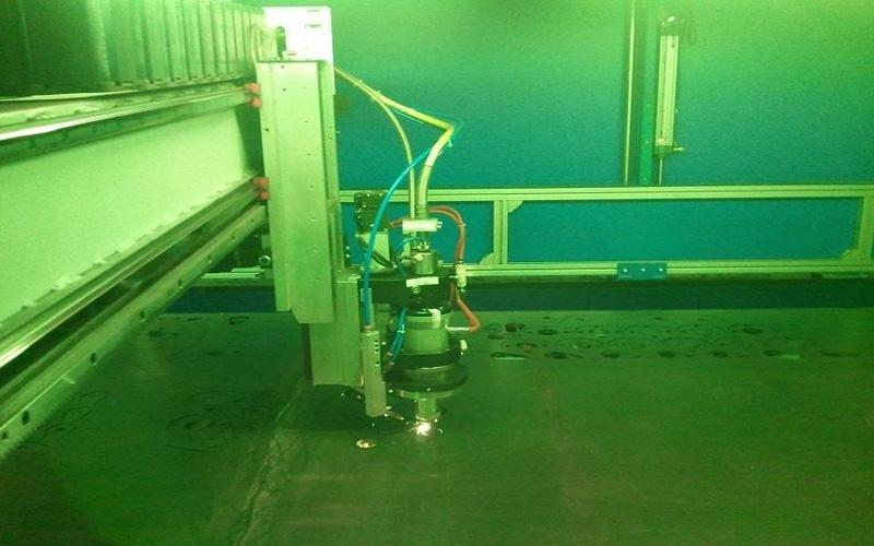 Taglio laser a fibra ottica