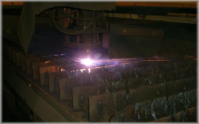 Taglio al plasma acciaio ancona