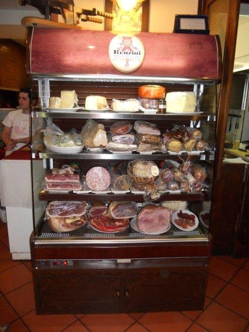 Salumi e formaggi regionali