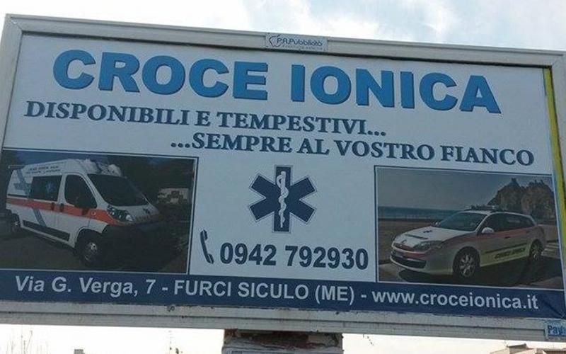 Croce Ionica pronto soccorso Messina