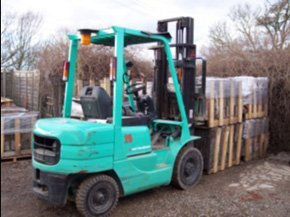 Roofing materials - Stoke - Forklift