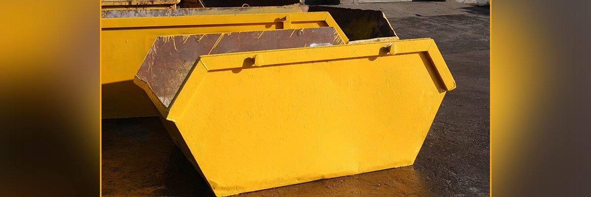One of our cheap skip bins in Western Sydney
