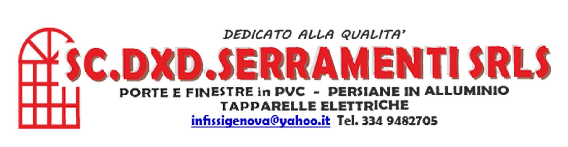 SC.DXD. SERRAMENTI-LOGO