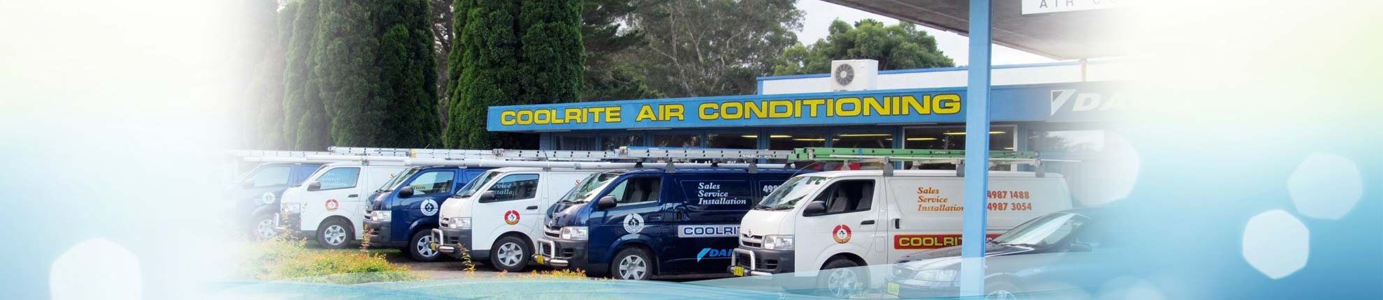 Coolrite air conditioning vans