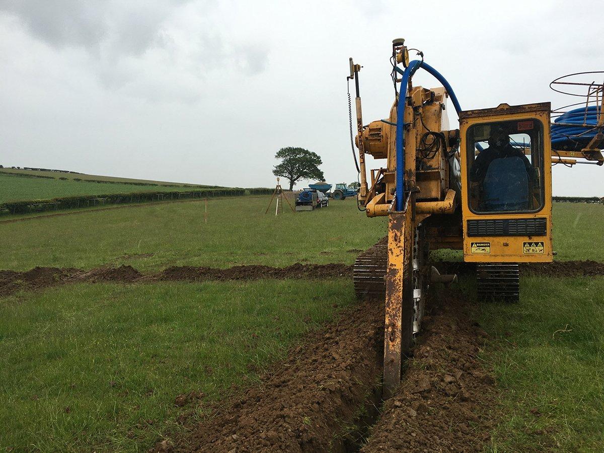 spoil digging
