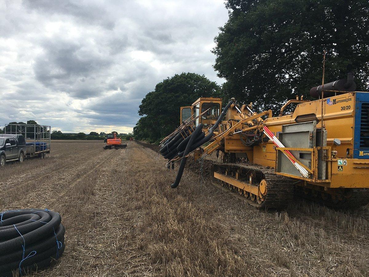 soil leveling