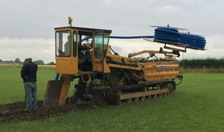 trenching machine