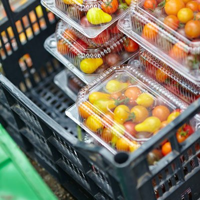 Crate Full Of Fruit