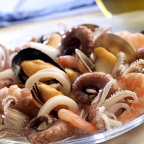 Piatti di pesce ristorante La Focaccia a Terracina