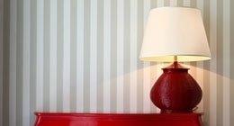 lampada supporto vetro